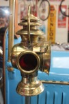 The carbide lamp of the car