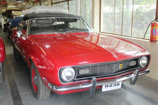This 1967 Cararo once belonged to Feroze Gandhi's sister