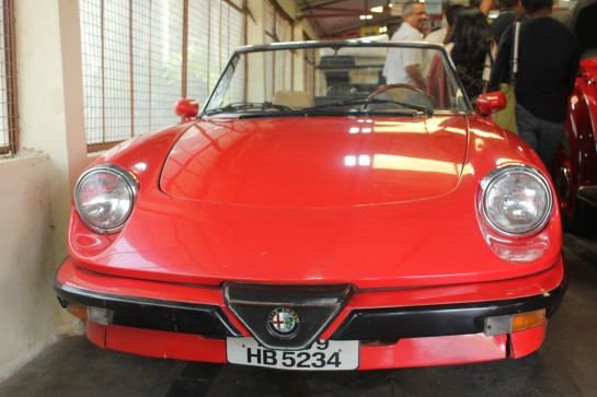 An Alfa Romeo