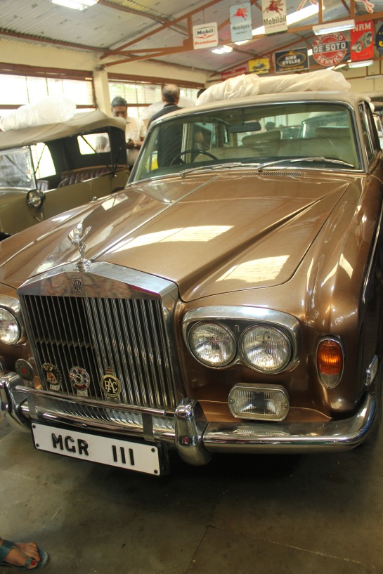 This car was once owned by MGR. Don't miss the registration number!