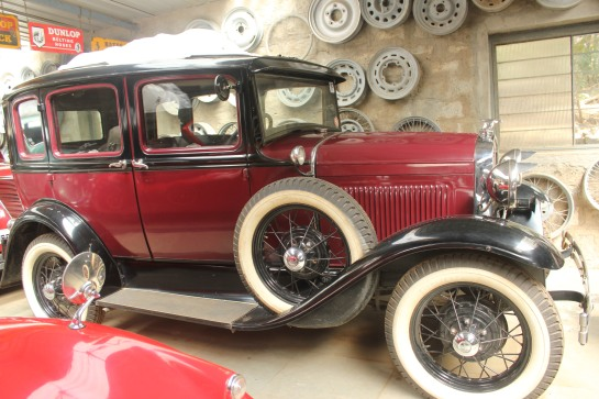 A 1930 Ford