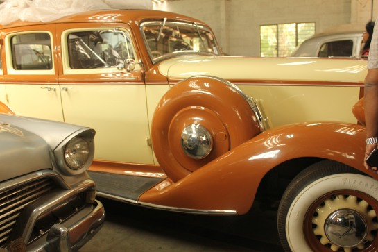 This car once belonged to the Maharaja of Darbhanga