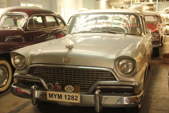This car once belonged to noted Kannada poet Kuvempu