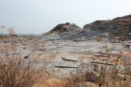 The ugly face of quarrying.