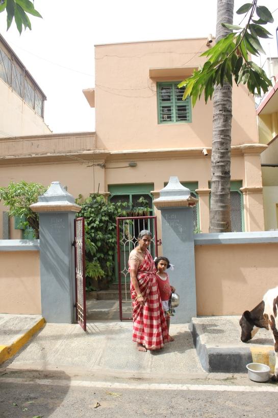 The house of Mr Nanjundaiah