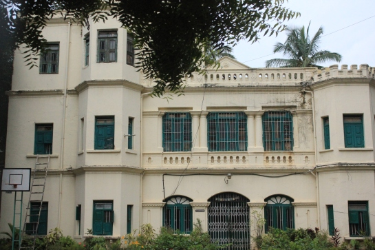 Mr Madhavan's house now the residence of his youngest son Devendran and his wife Sushila