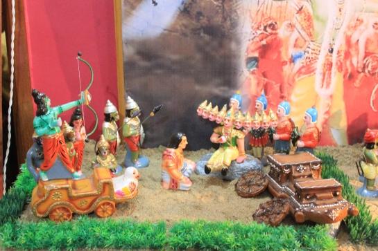 Rama kills Ravana