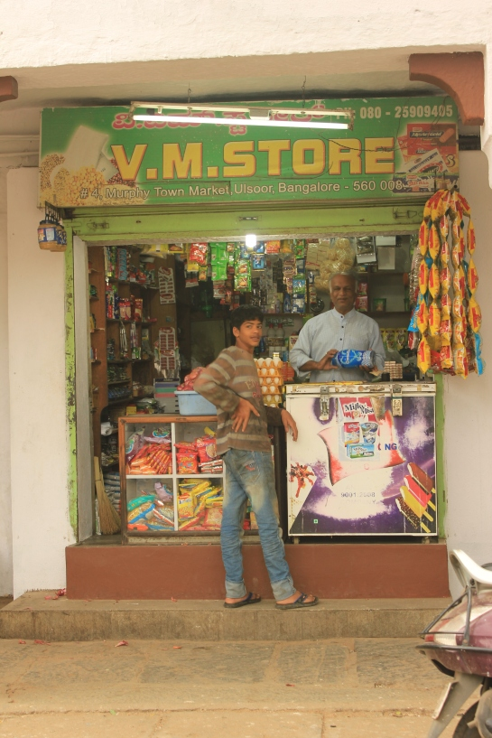V. M. Stores is as old as the market.