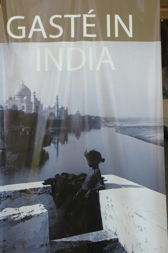 'Sita's Terrace' captures the Taj Mahal in a different perspective. (Picture courtesy: Hoarding at the NGMA)