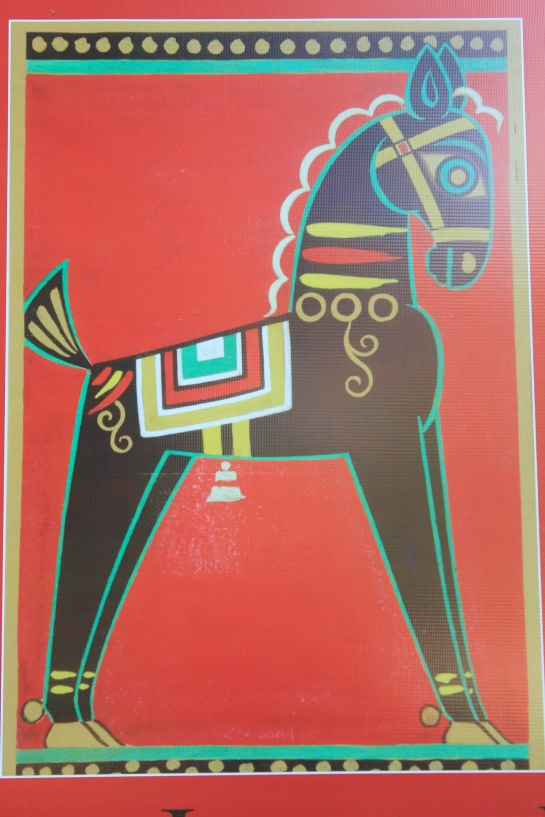 Black Horse (Picture courtesy: NGMA banner)