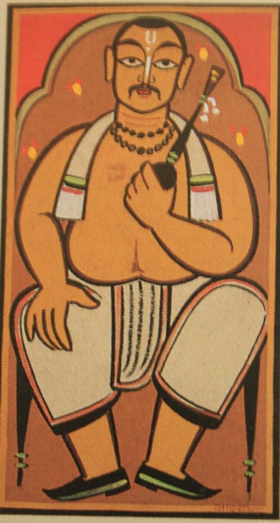 Babu (Picture courtesy: NGMA brochure)