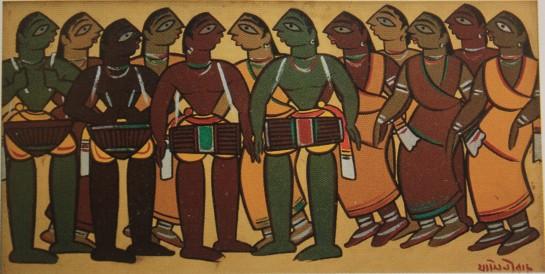 Santhal Dance