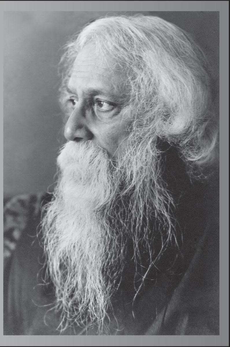 rabinranath tagore India's national movement for freedom was accompanied by a large wave of  social, educational and economic awareness throughout the nation tagore, one  of.